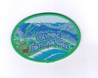 Vintage Olympic National Washington State Patch