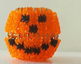 Lighted Pumpkin
