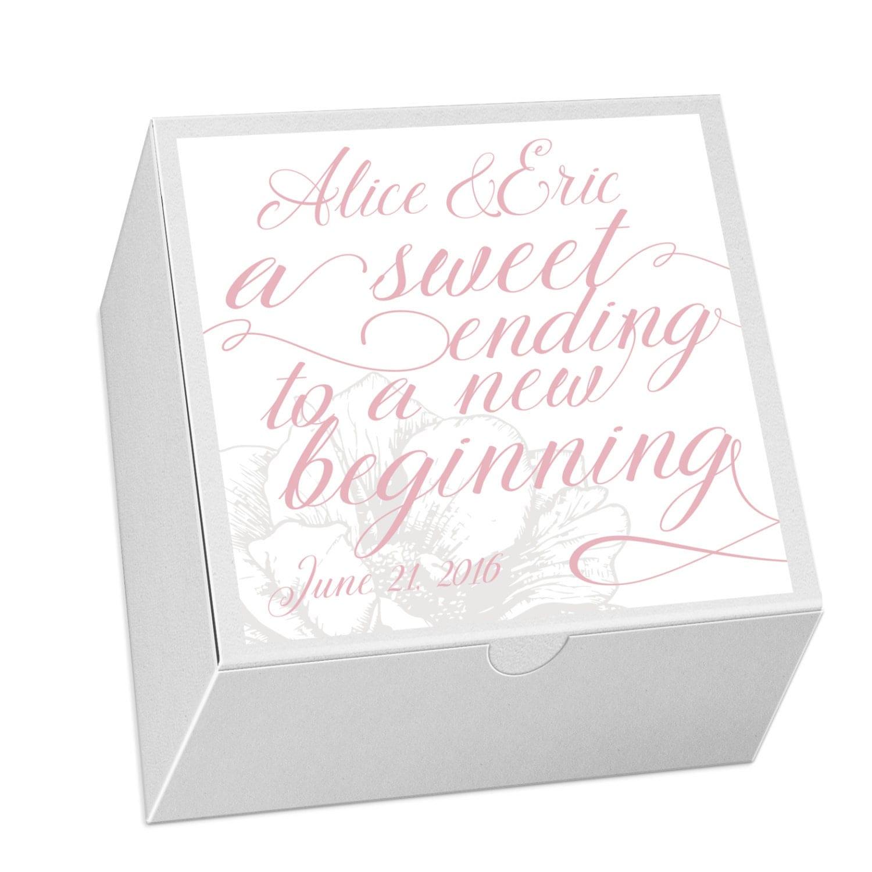 25 Cake Favor Box Wedding Favor Candy Favor Box Event