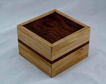 Australian timber inlay wooden box