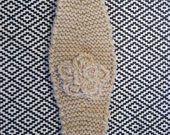 """Handmade Knitted Headband """"The Caity"""" 0001"""