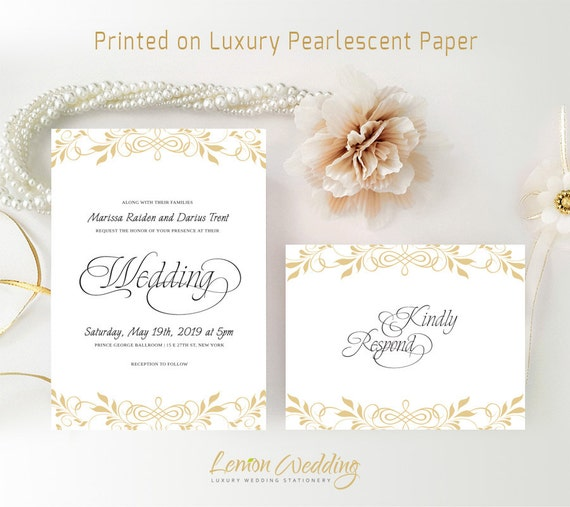 Clean image within printable cardstock invitations