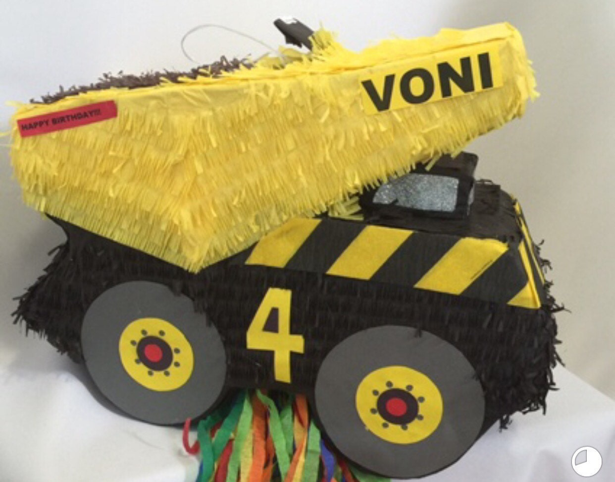 Personalized Construction Truck - 167.7KB