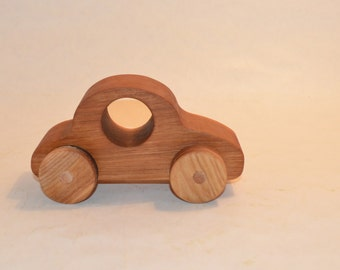 Wooden Car. Wooden Toy