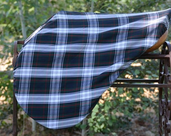 Mackenzie Dress Tartan English Saddle Cover
