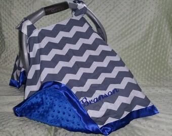 Chevron Carseat Canopy, Chevron Carseat Tent, Chevron Car seat cover, Custom Canopy, Personalized Car Seat Cover, Chevron Car seat canopy