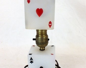 """1931 Art Deco Ace lamp 10 1/2"""" tall, weight 2.7 Lb. Dated on the bottom"""