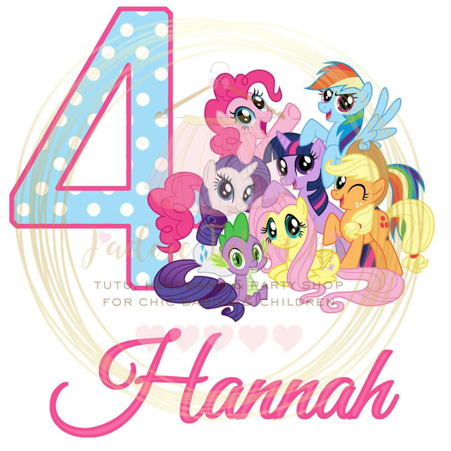 My Little Pony 2nd Birthday