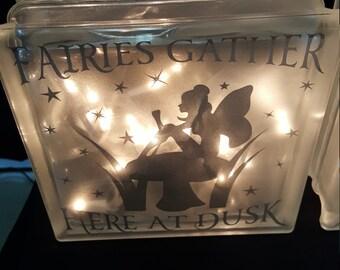 Fairies Gather Here at Dusk Night Light