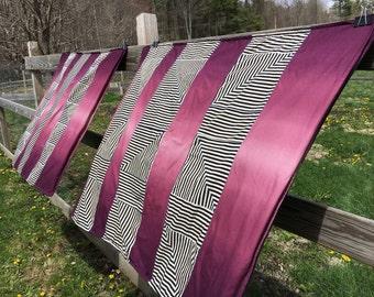 Throw: Ombre Stripes