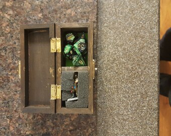 RPG box, adventure box, dice box, hero box, DND box, Pathfinder box, The possibilities are endless