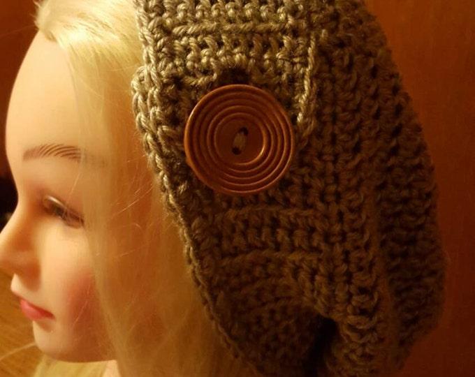 Handmade brick and stone hat