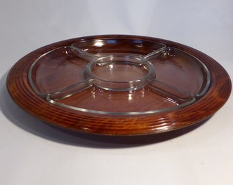 Sanenwood Hors D'oeuvres Dish - original from the 1970's