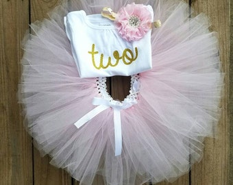 Second Birthday Outfit Girl, Two Year Old Birthday Outfit Girl, 2 Year Old Birthday Girl Outfit, 1 Year Old Girl Birthday Outfit, Girl Tutu
