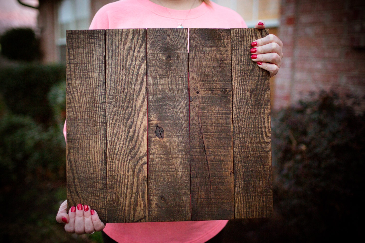 Reclaimed Blank Pallet Wood Canvas Sign Blank Wood Sign