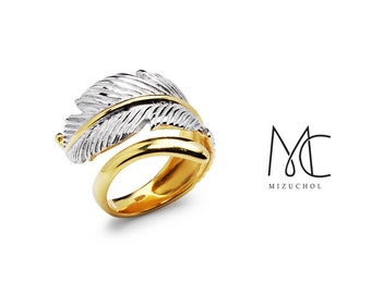 Angel Trace Ring - Statement Ring Size 5 - 9