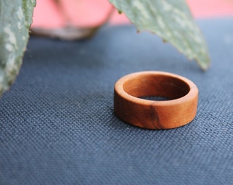 Hand Turned Wood Ring