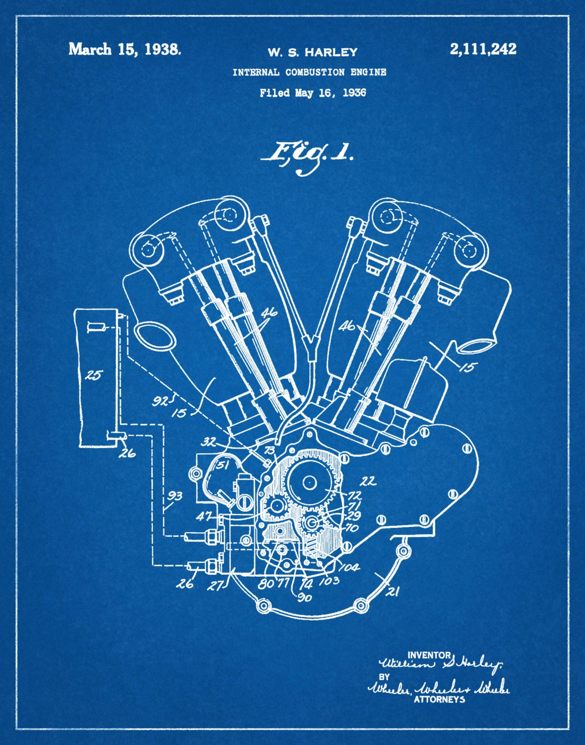 Il Fullxfull A on Knucklehead Engine Drawings