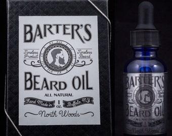 """Barter's Beard """"Northwoods"""" Beard Oil"""