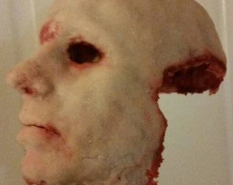 Super Creepy Scary  Silicone Mask Free shipping