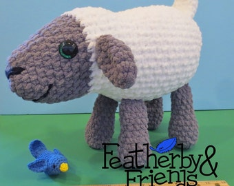 Pattern: Seamus the Huggable Sheep Plush Crochet Stuffed Animal