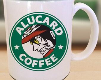 Alucard X Hellsing X Starbucks Anime Manga Geek Nerd Inspired Mug s