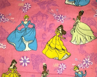 Disney Princess receiving/swaddle blanket (Large)