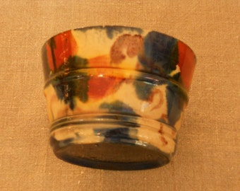 small spatterware bowl