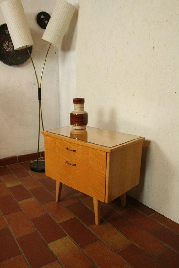 Locker Bedside Table: 50s Bedside Table Locker Or Nightstand