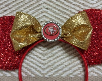 49ers Minnie Ears