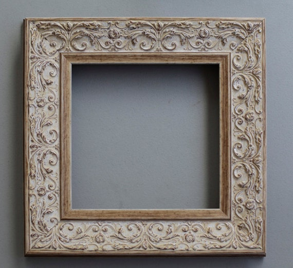 photo frame picture frame square frame 8x8 wood frame