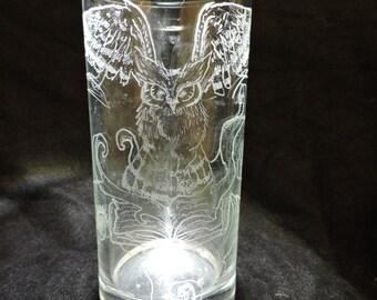 Mystic Owl Glass