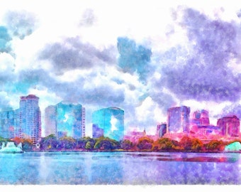 Downtown Orlando, Florida -  Original
