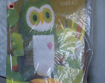 Hoot the Owl Heart Warmer springbok stuffed animal kit - Sealed Package