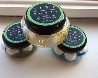 Klēn Bath Kandy- Fizzy Bath Bombs