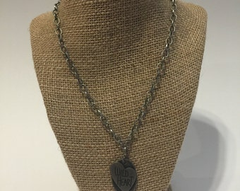 Wild Heart Charm Necklace