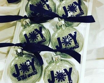 SALE!! Joy Ornaments