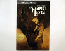 The Vampire Lestat No.1 -Innovation -Comic(s), (Grade NM) Jan 1990, Vintage Lestat Comic Book, Anne Rice Adaptation