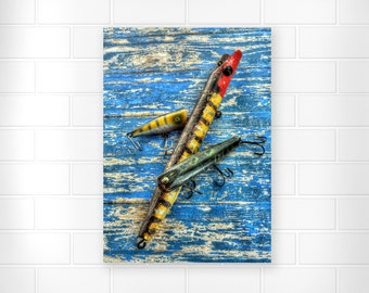 Father's Day Gifts - Photo Print - Gifts for Men - Wall Art - Fishing Gifts - Photography - Home Decor - Gifts for Dad - Vintage Photography