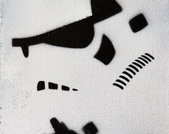 Stormtrooper Graffiti Art