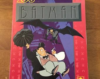 Vintage Batman And Penguin Puzzle
