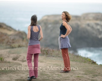 Best Little Skirt for everyday wear in Hemp / Organic Cotton /  Lycra by Karuna Clothing™, Hemp Skirt
