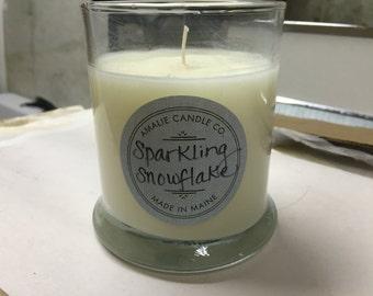 SALE Sparkling Snowflake Tumbler