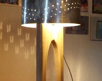 Light oak and aluminium - ref: lampCH07