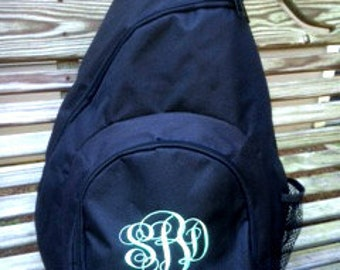 Monogrammed Sling, Cross body Back Packs