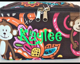 SALE****Personalized Monkey Case, FREE SHIPPING!!!