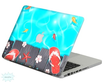 Fishes decal mac stickers Macbook decal macbook stickers apple decal mac decal stickers