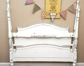 SOLD - Full Size 4-Poster Bed