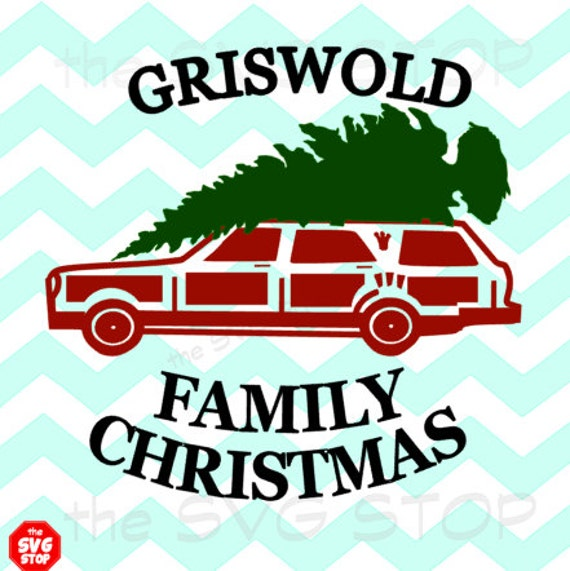 Family Christmas Wagon SVG files for Cricut Silhouette Vinyl