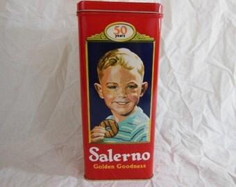 Vintage Salerno Cookie Tin